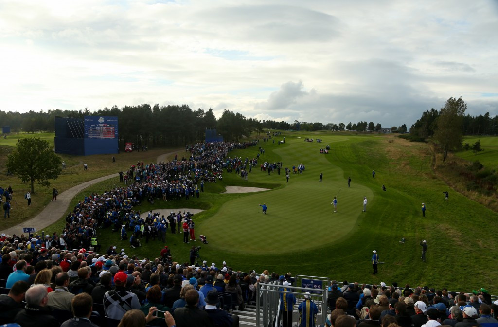 Gleneagles played host to the 2014 Ryder Cup ©Getty Images