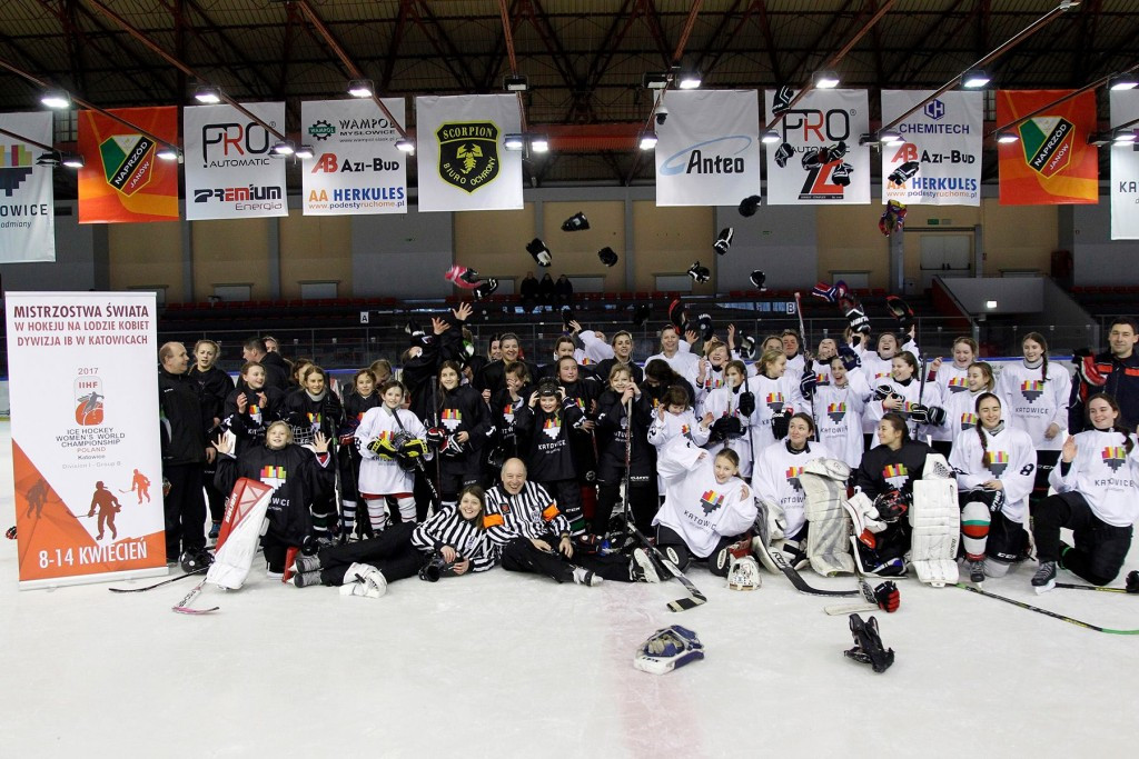 Global Girls' Game sees 38 ice hockey matches played around the world in two days