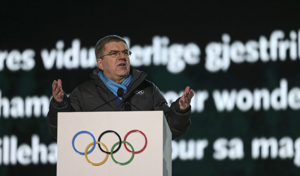IOC President Thomas Bach has again praised the success of Lillehammer 2016 ©Getty Images