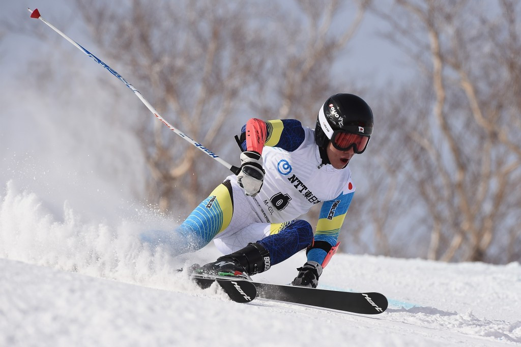 Yohei Koyama cruised to the gold medal in giant slalom today ©Getty Images