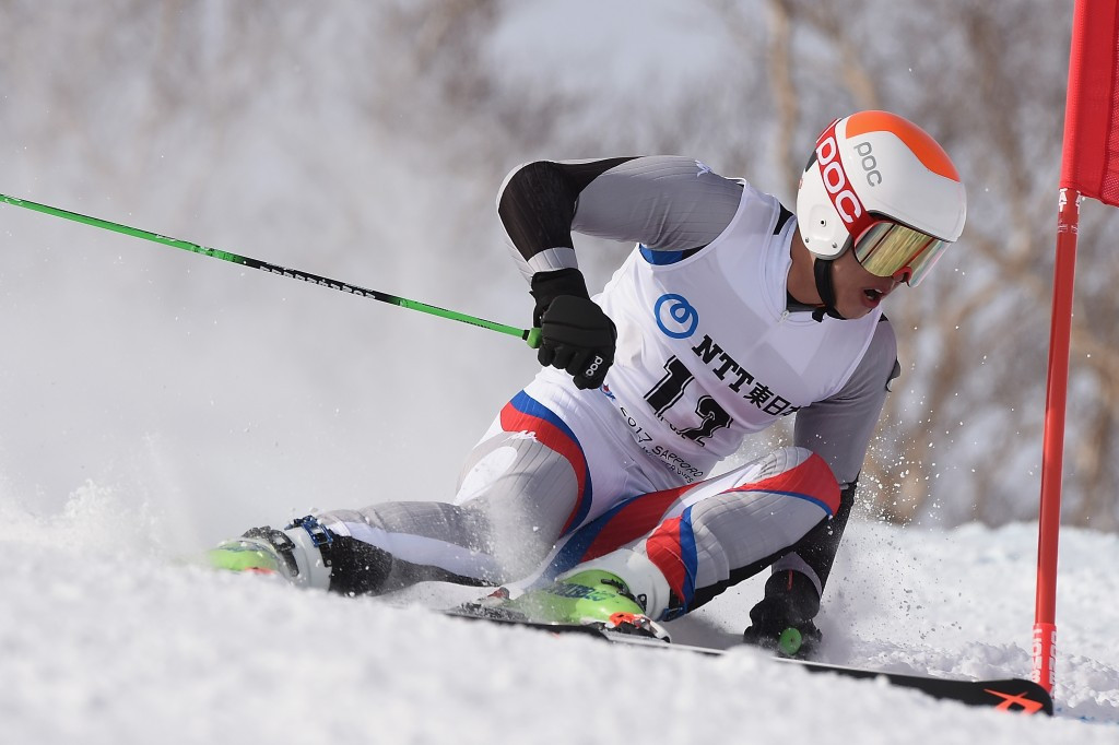 Kim Hyeon-tae of South Korea won the silver medal after the two runs ©Getty Images