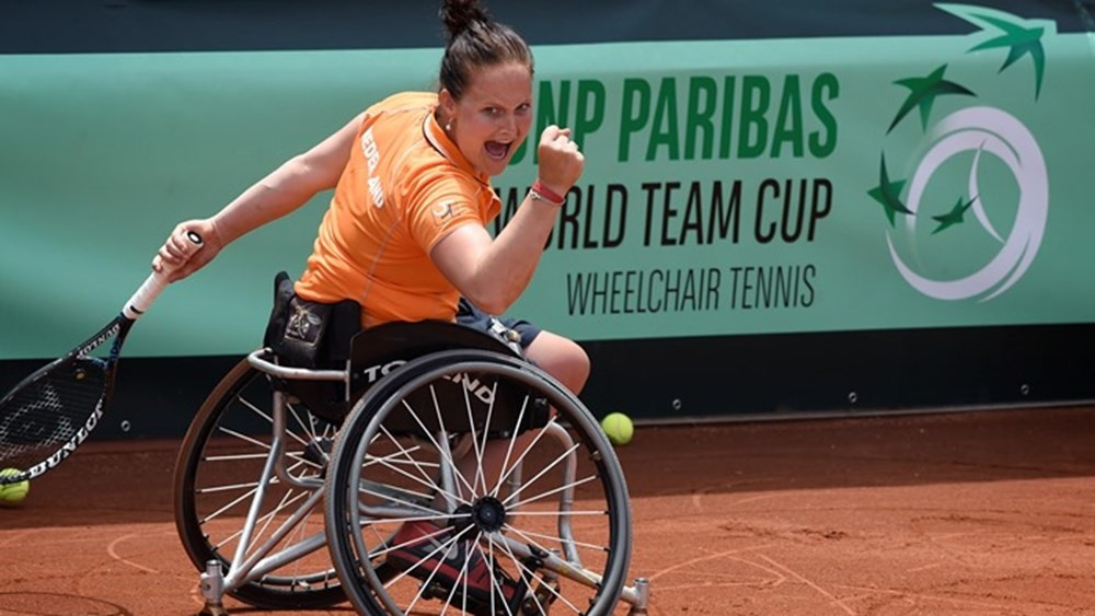 The Netherlands has been awarded two major wheelchair tennis events in 2017 and 2018 ©Mathilde Dusol/ITF