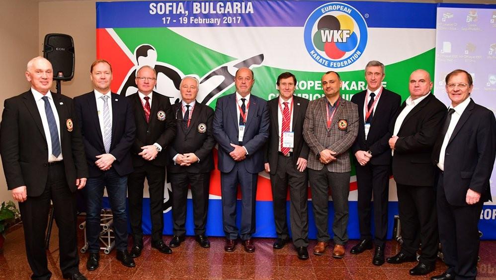 European Karate Federation discuss competition calendar in Sofia