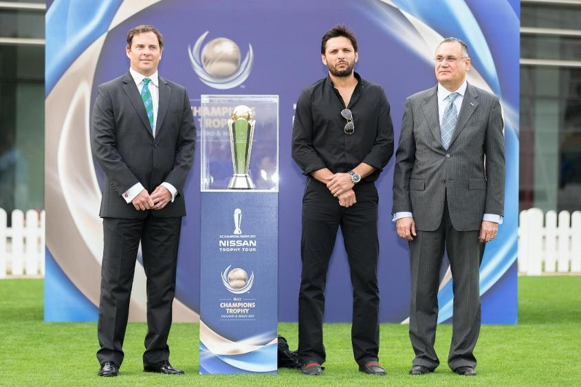 International Cricket Council launch 2017 Champions Trophy Tour
