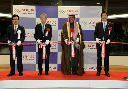 OCA President officially recognises Sapporo Olympic Museum