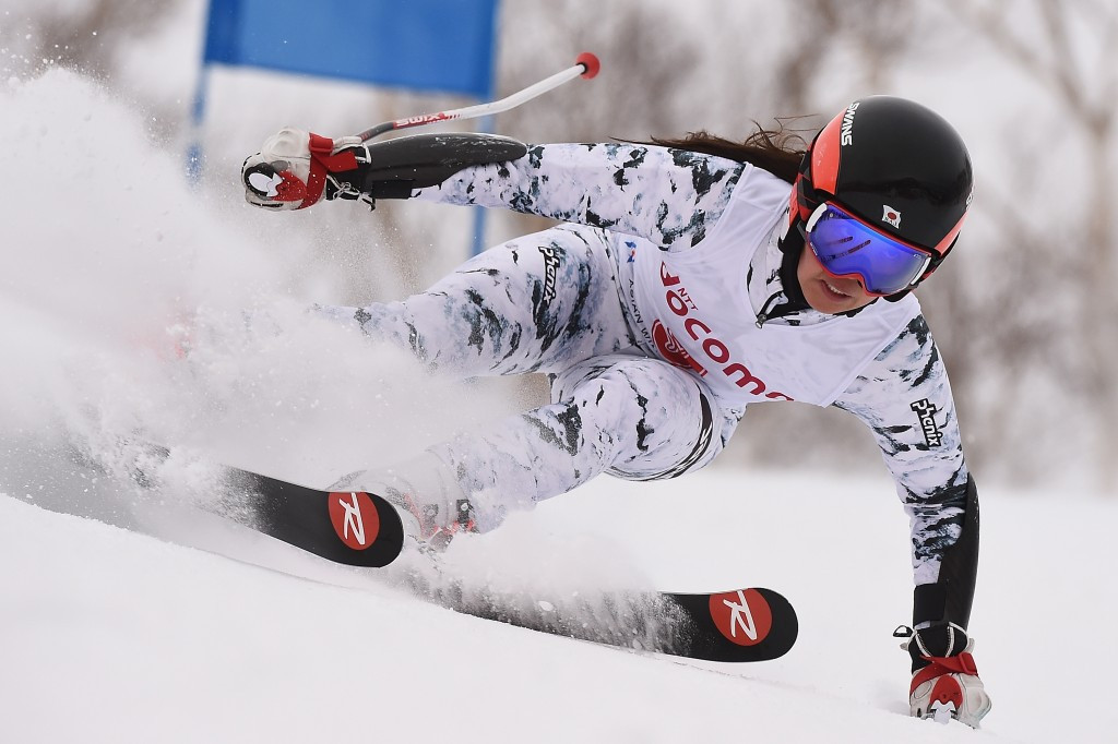Emi Hasegawa triumphed in the women's giant slalom ©Getty Images