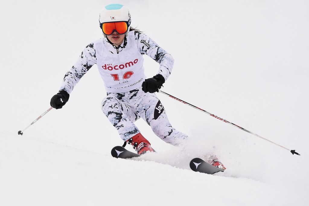 Asa Ando earned the silver medal after two strong runs ©Getty Images