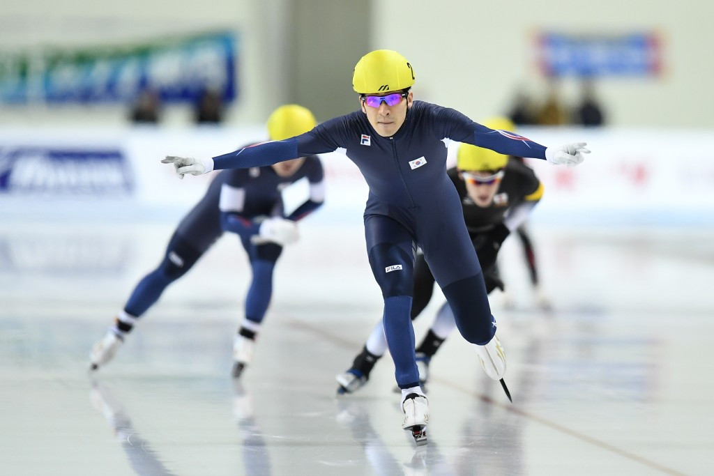 Lee and Takagi clinch fourth speed skating golds