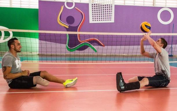Chapecoense plane crash survivor visits Brazilian Paralympic Centre
