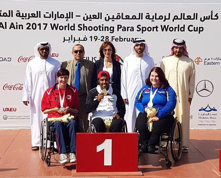 Alahbabi wins gold at World Shooting Para Sport World Cup