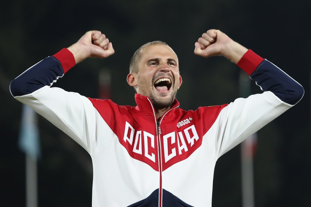 Reigning Olympic champion Alexander Lesun of Russia made it through to Friday's final ©Getty Images