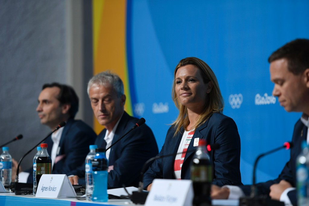 The Budapest 2024 Athletes' Committee is chaired by Olympic gold medallist Ágnes Kovács ©Getty Images