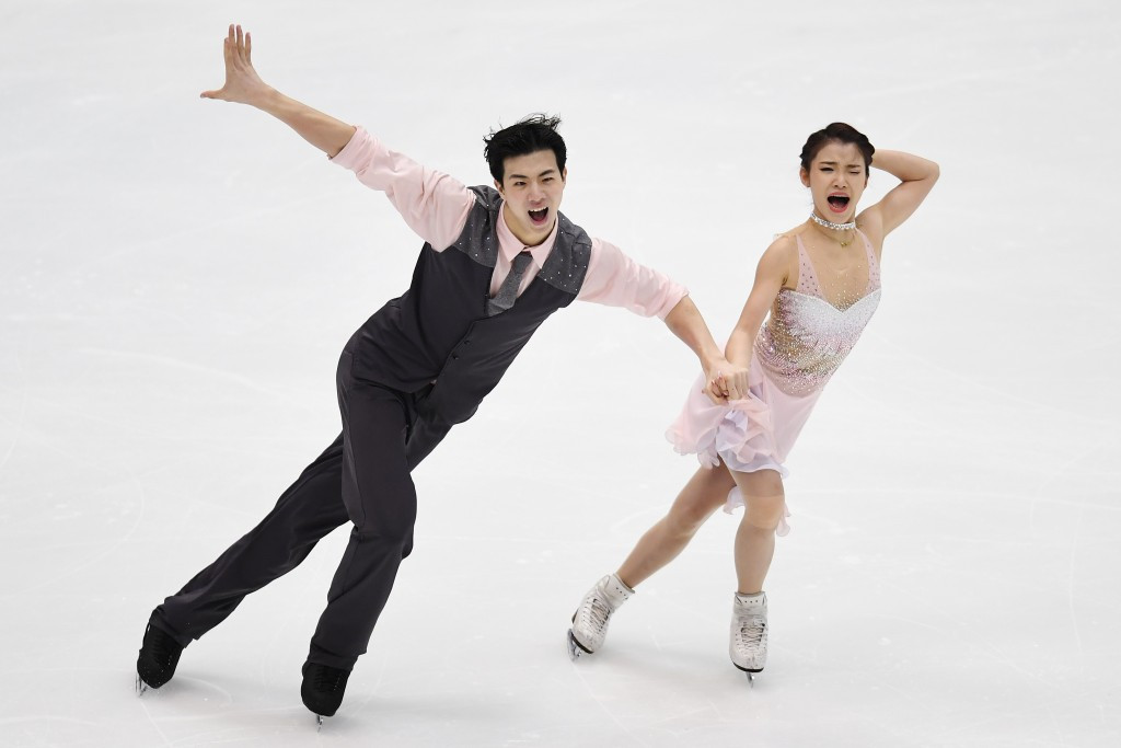 Chinese couple claim Asian Winter Games figure skating gold
