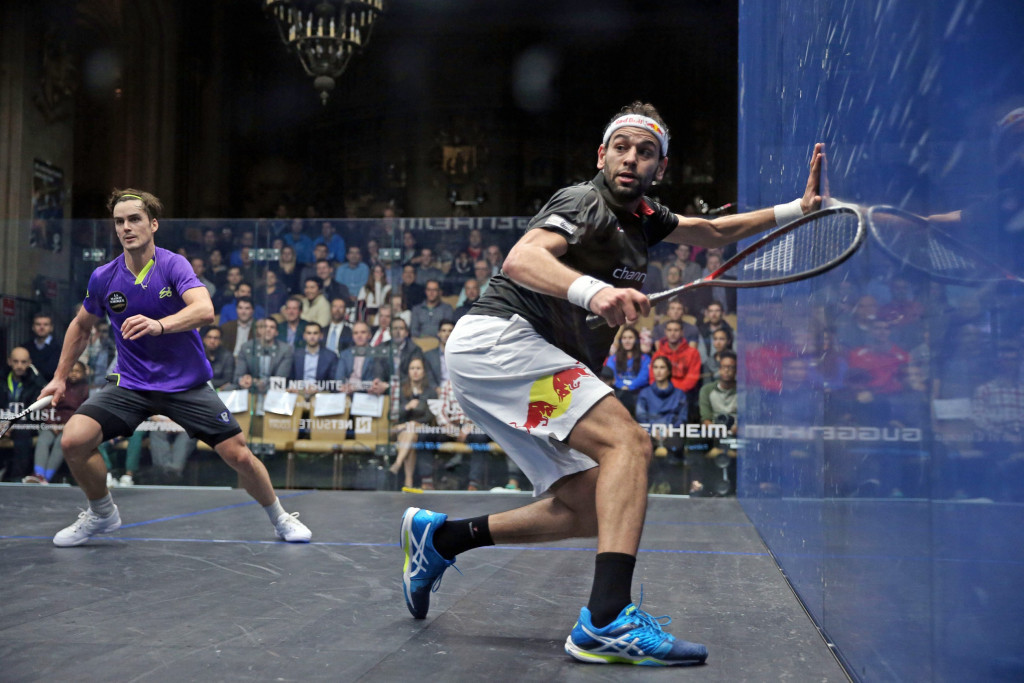 El Shorbagy makes winning start to Windy City Open campaign