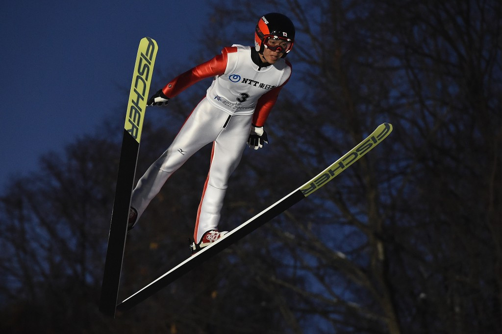 Naoki Nakamura dominated the men's large hill competition ©Getty Images