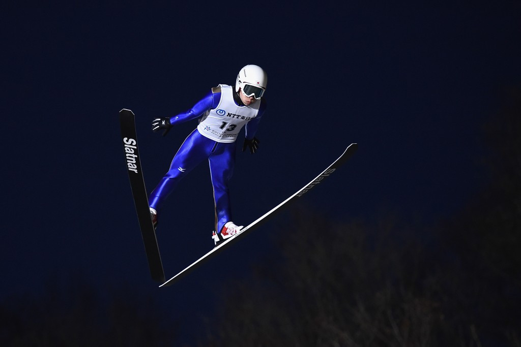 Yukiya Sato was unable to match his normal hill gold medal winning performance today ©Getty Images