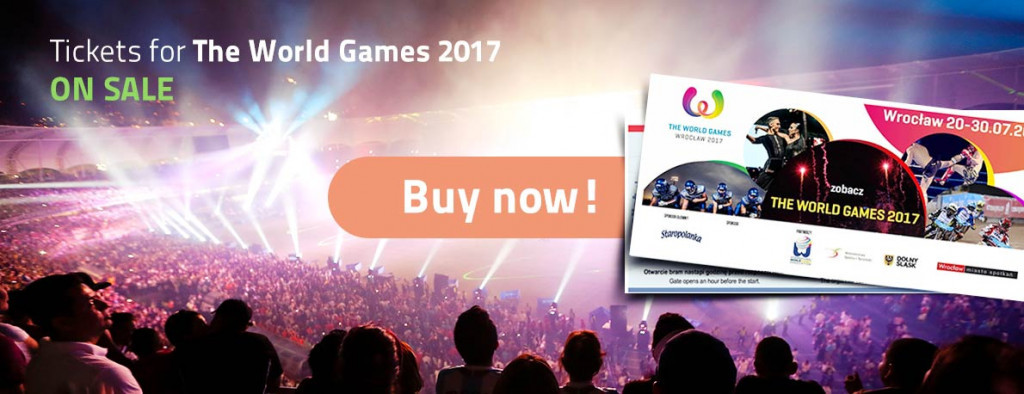 Tickets for the World Games have gone on sale ©IWGA