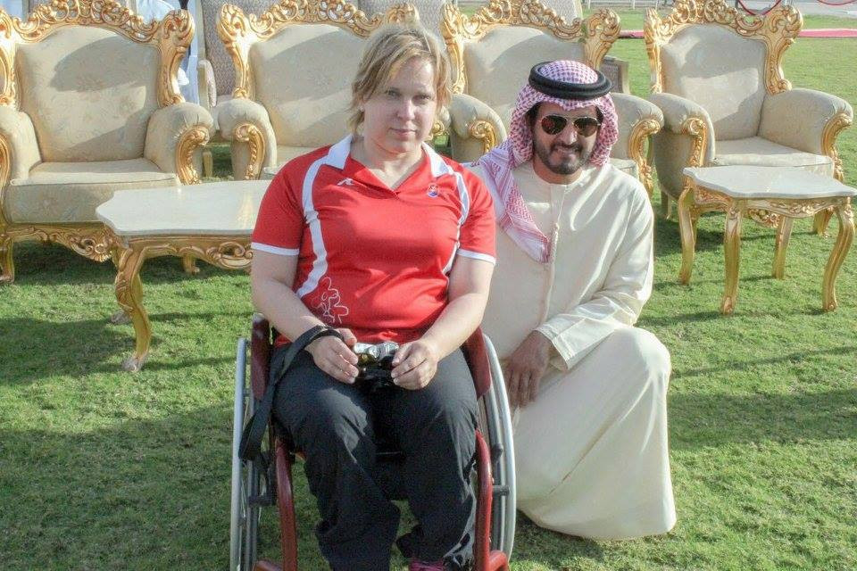 Vadovicova wins third gold at World Shooting Para Sport World Cup