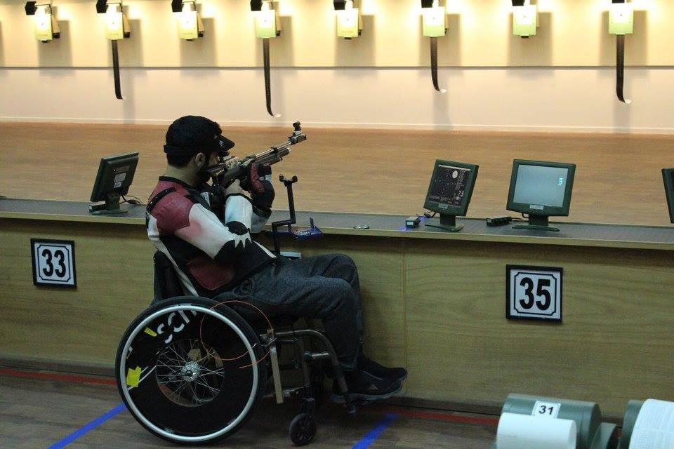 Action continued at the Al Ain Equestrian, Shooting and Golf Club today ©IPC