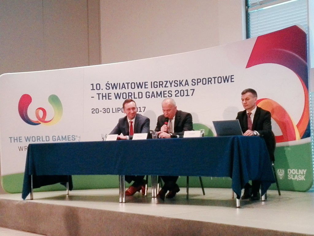 The ticketing announcement was made at an event at the headquarters of the Polish Olympic Committee ©IWGA