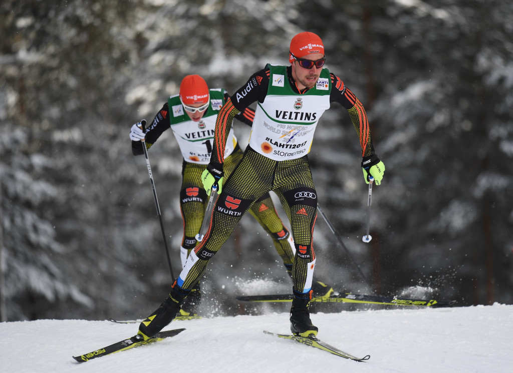 Rydzek leads home podium sweep for Germany at Nordic Ski World Championships