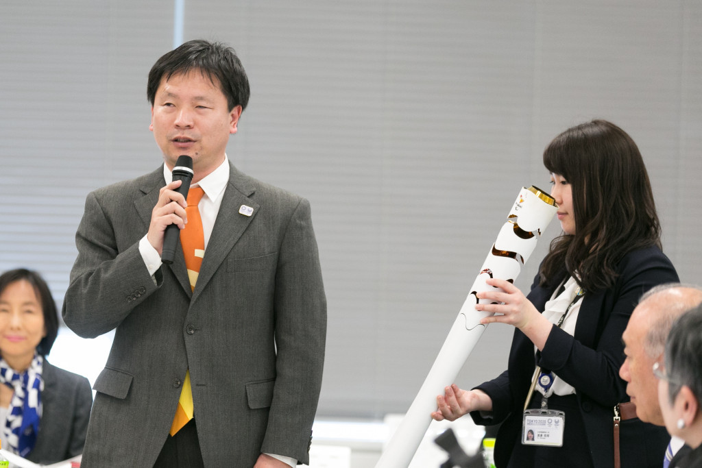 Junichi Kawai, left, is among the Torch Relay commission members ©Tokyo 2020