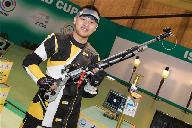Song wins ISSF World Cup gold at first attempt