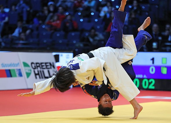 Japan's Abe makes history at IJF Dusseldorf Grand Prix
