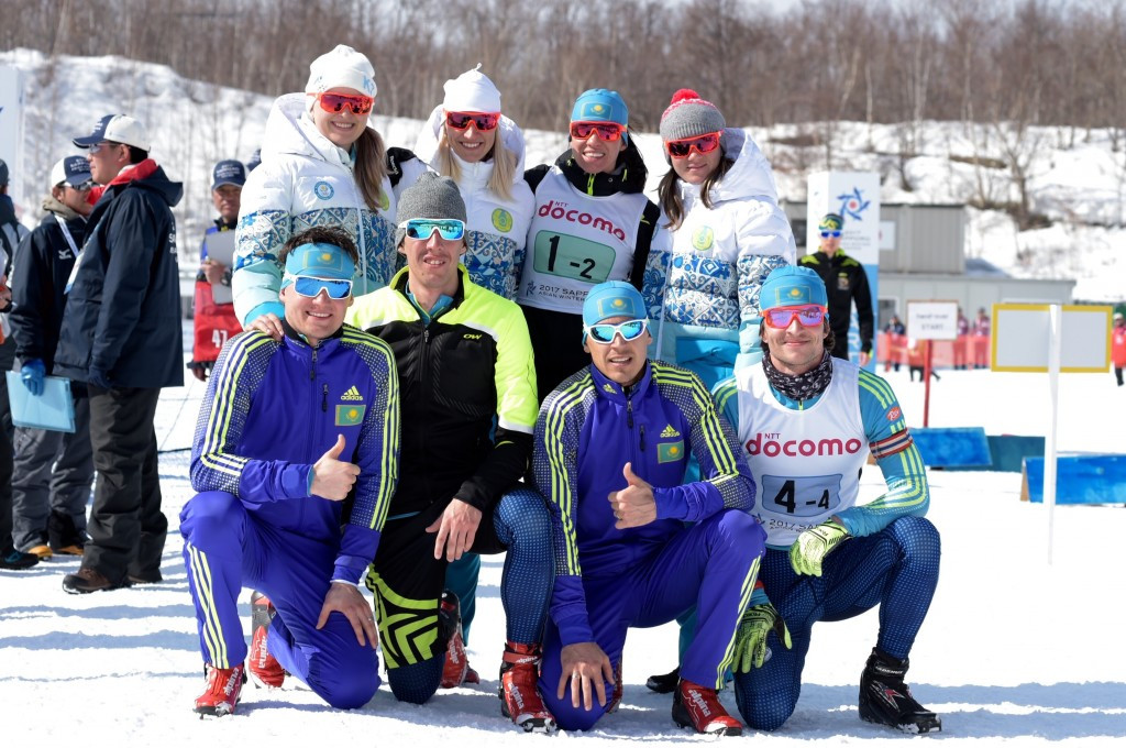 Kazakhstan dominate to clinch continental one-two in biathlon mixed relay