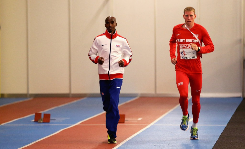 British team mates Mo Farah and Andy Vernon have endured an increasingly strained relationship in recent months ©Getty Images