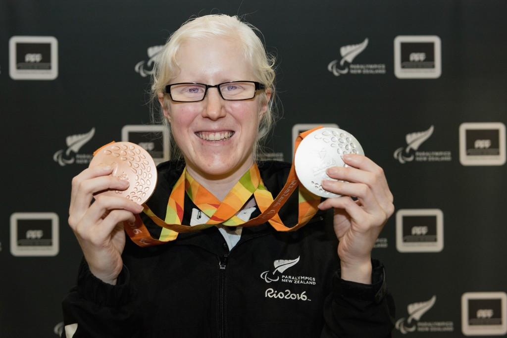 Paralympian Emma Foy shared her para sport journey as part of the training camp ©Getty Images