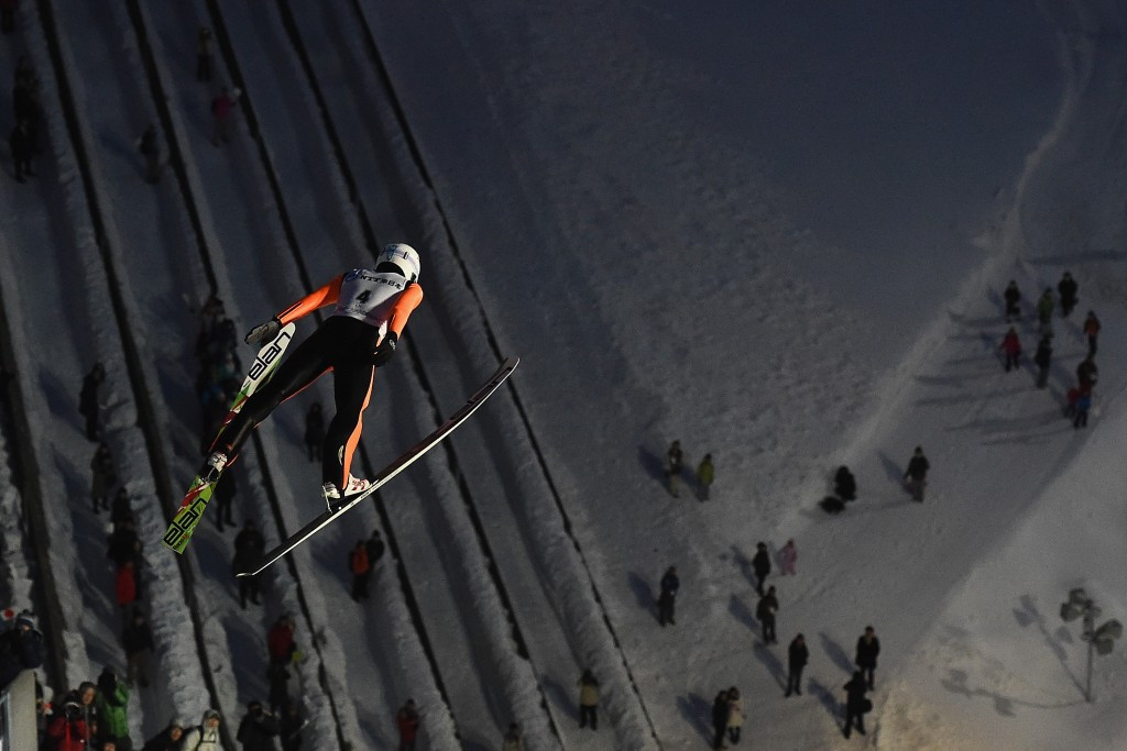 The event brought an end to ski jumping competition at the Games ©Getty Images