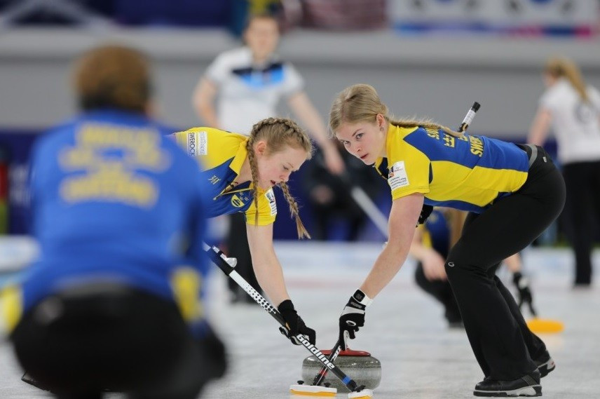 Sweden defeated Scotland in today's gold medal match ©WCF