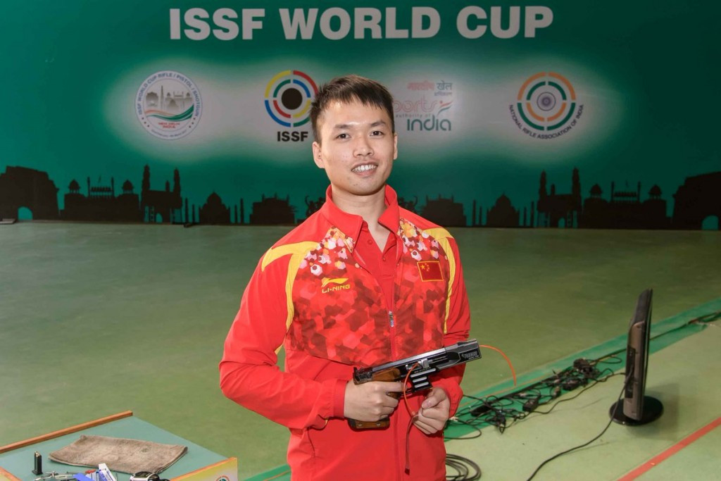 Lao continues China's impressive start to ISSF World Cup