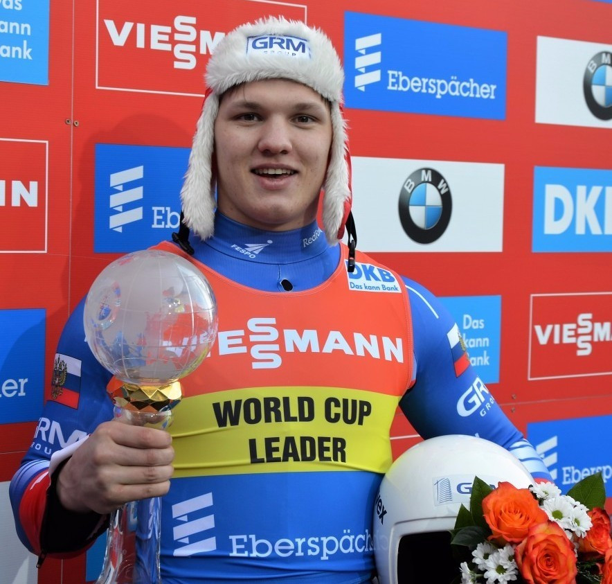 Roman Repilov secured the FIL World Cup crown in Altenberg today ©FIL