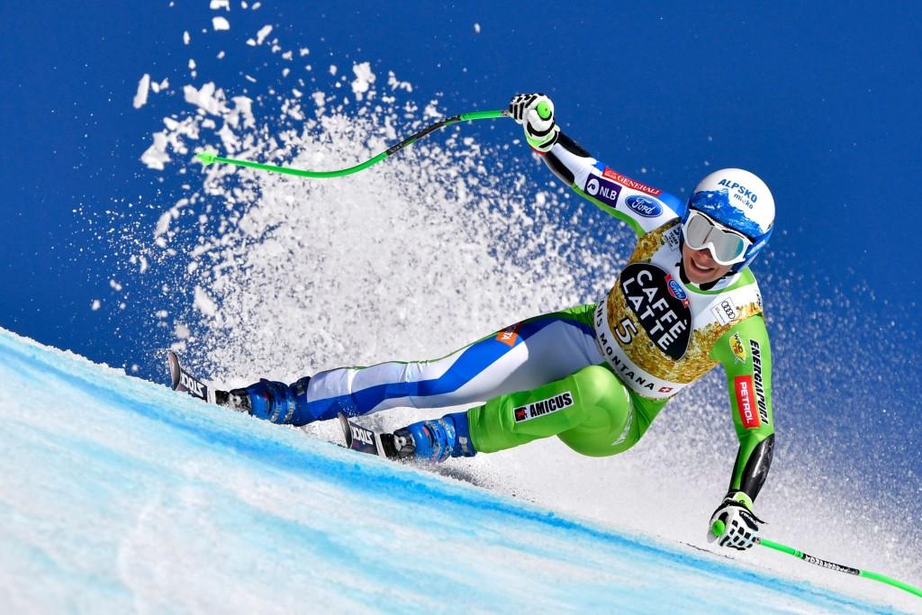 Štuhec wins super-G at FIS Alpine Skiing World Cup