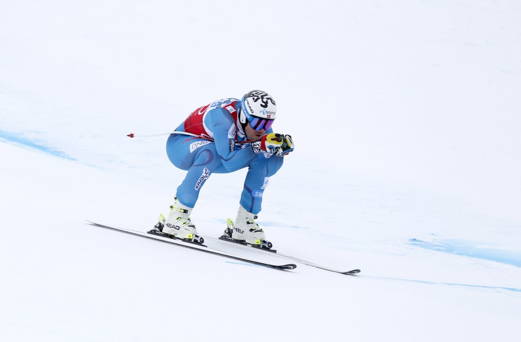 Olympic super-G gold medallist Kjetil Jansrud won the men's downhill event on home snow in Kvitfjell ©Getty Images