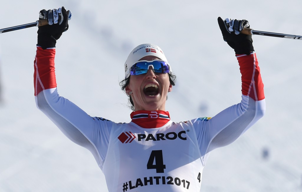 Bjørgen secures record 15th title at FIS Nordic Ski World Championships
