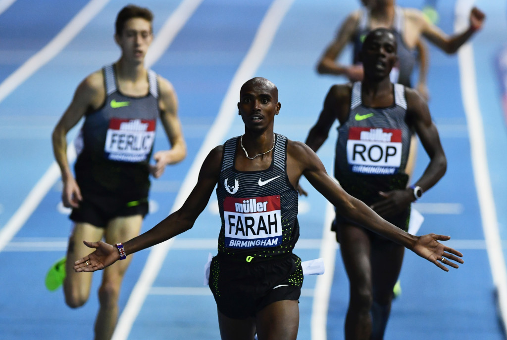 "Four-time Olympic gold medallist Sir Mo Farah has reiterated he is a ""clean athlete"" ©Getty Images"
