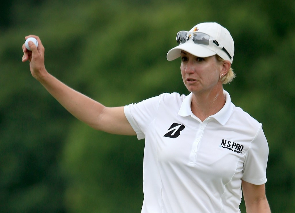 Alex and Webb share early lead at Women's US Open as weather postpones first round action