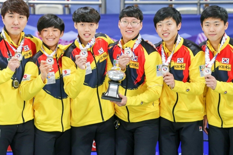 Hosts South Korea took the gold medal on home ice at the 2017 World Junior Curling Championships ©WCF
