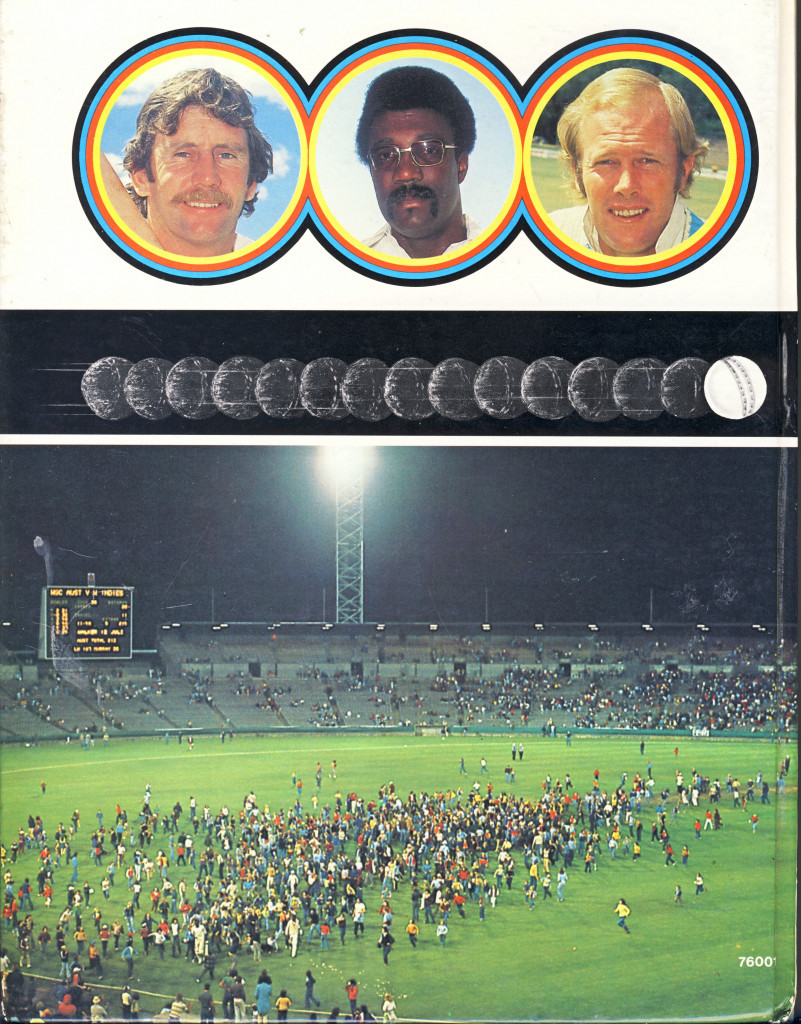As shown in this promotional material, World Series Cricket featured top players, a white ball and day-night games ©WSC