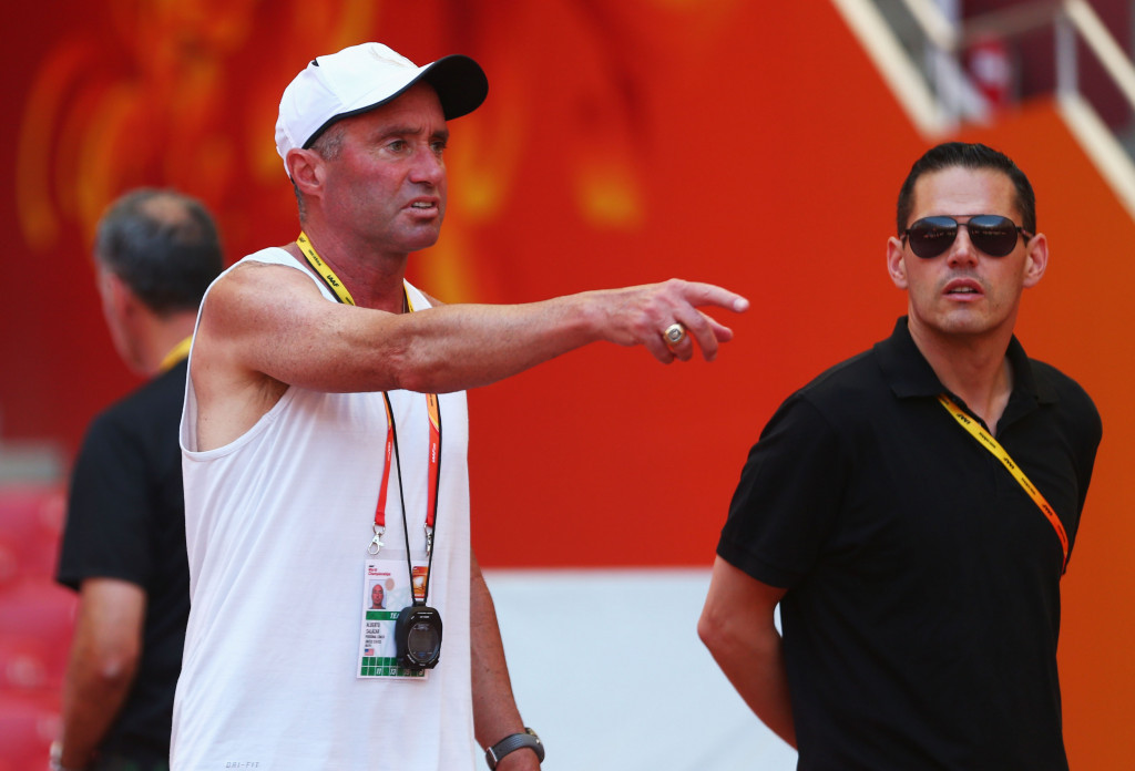 Alberto Salazar, Sir Mo Farah's coach, is facing more questions about whether he broke anti-doping rules to boost the performance of some of his athletes ©Getty Images