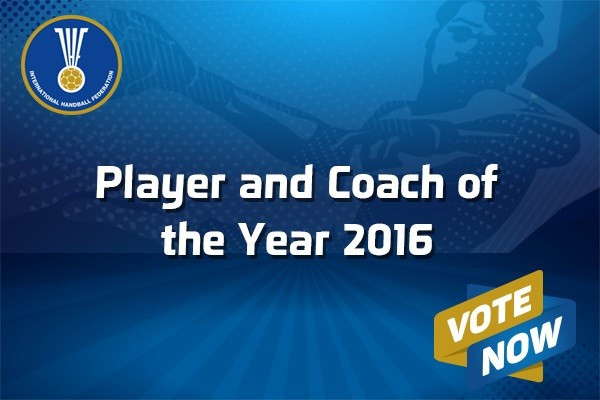 Voting for the IHF player and coach of the year awards is now open ©IHF