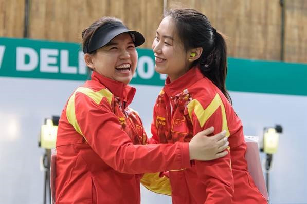 China's Lin scores new world record at ISSF World Cup