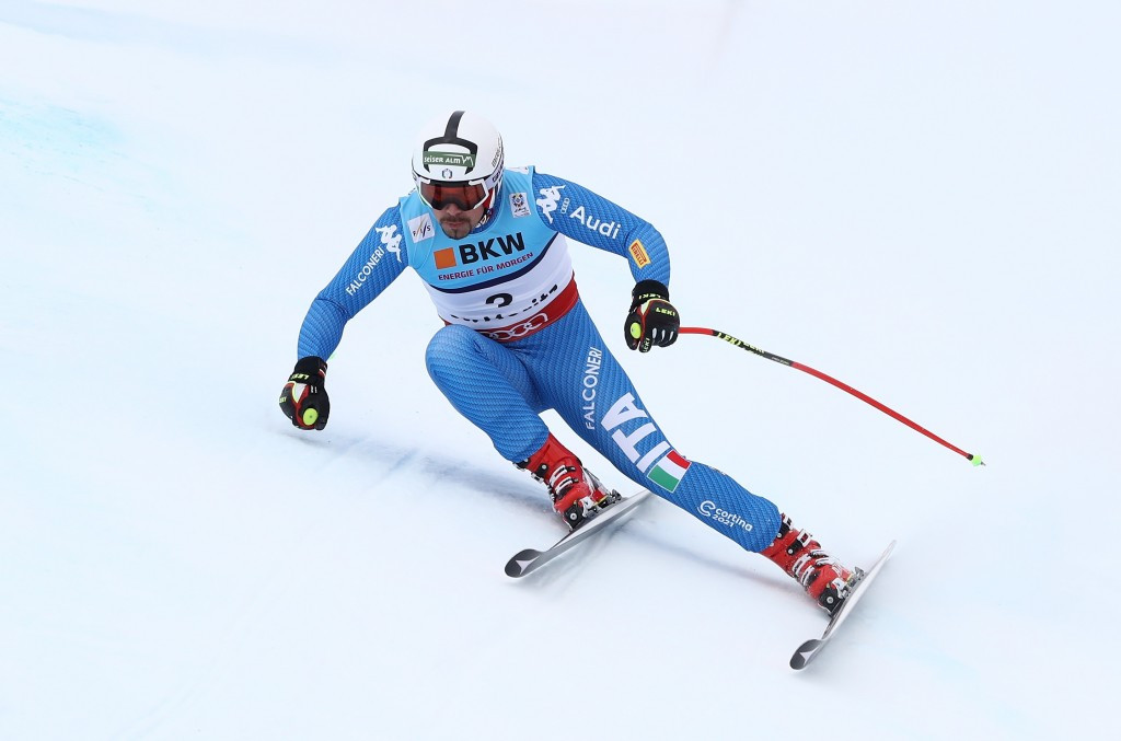 Italy's Peter Fill won today's men's Super G event in Kvitfjell ©Getty Images