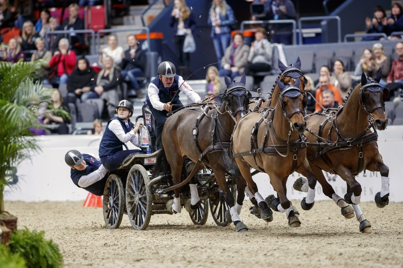 Exell crowned FEI Driving World Cup winner