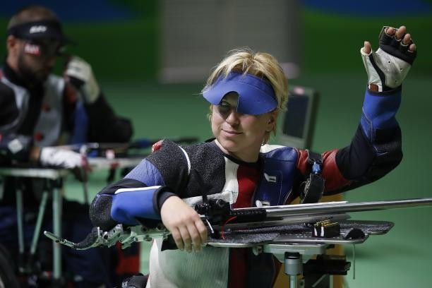 Veronica Vadovicova claimed her fourth gold at the Shooting Para Sport World Cup today ©IPC