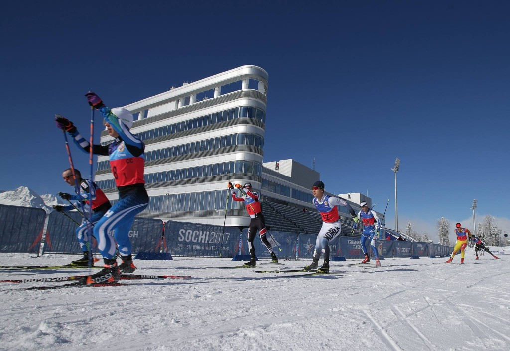 Russia dominate cross-country skiing at Military World Winter Games