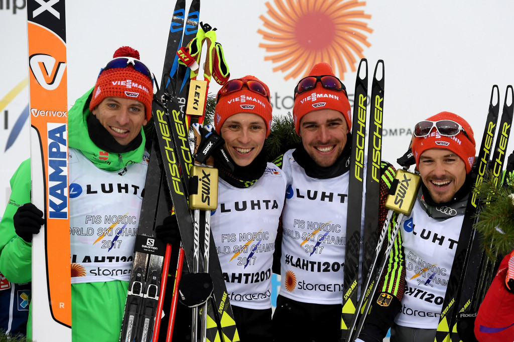 Germany retain men's team title at Nordic Ski World Championships